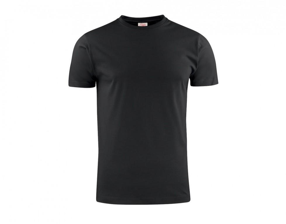 Printer T-shirt light RSX heren 2264027 zwart