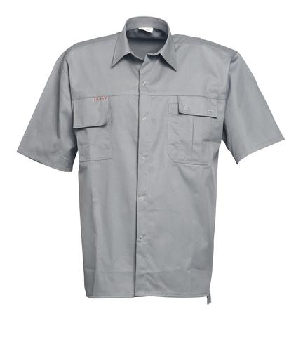 HAVEP® 2000 Hemd korte mouw Grijs