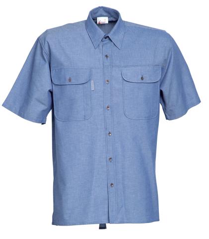 HAVEP® Basic Hemd korte mouw Bleu