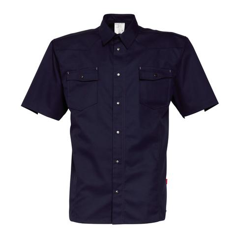 HAVEP® Worker Hemd korte mouw Marineblauw