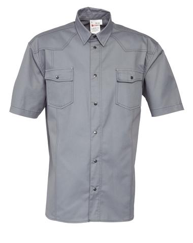 HAVEP® Worker Hemd korte mouw Grijs
