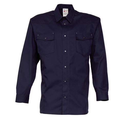 HAVEP® Worker Hemd lange mouw Marineblauw