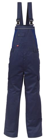 HAVEP® 4seasons Amerikaanse overall/Bretelbroek Marineblauw/korenblauw