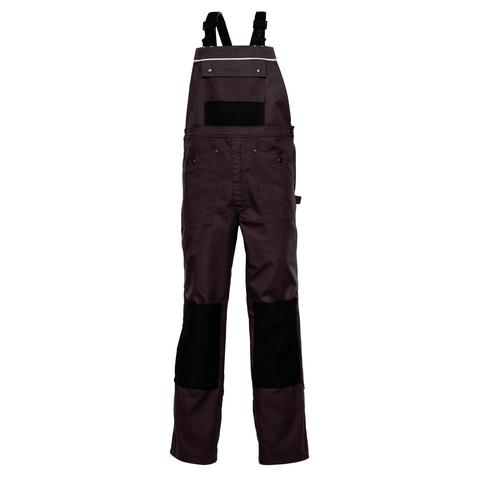 HAVEP® Worker.pro Amerikaanse overall/Bretelbroek Charcoal grey/zwart