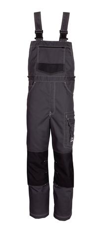 HAVEP® Titan Amerikaanse overall/Bretelbroek Charcoal grey/zwart