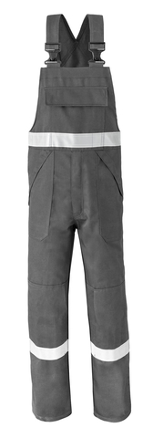 HAVEP® 5safety Amerikaanse overall/Bretelbroek 2151 charcoal