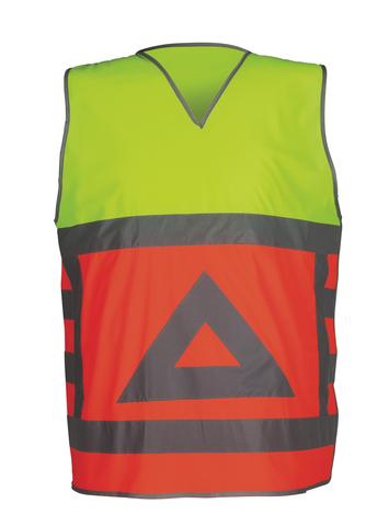 HAVEP® High Visibility Verkeersregelaarsvest Fluo oranje/Fluo geel