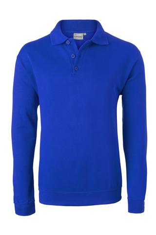 HAVEP® Basic Polo sweater Korenblauw