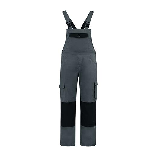 Bestex Tuinbroek grijs-zwart