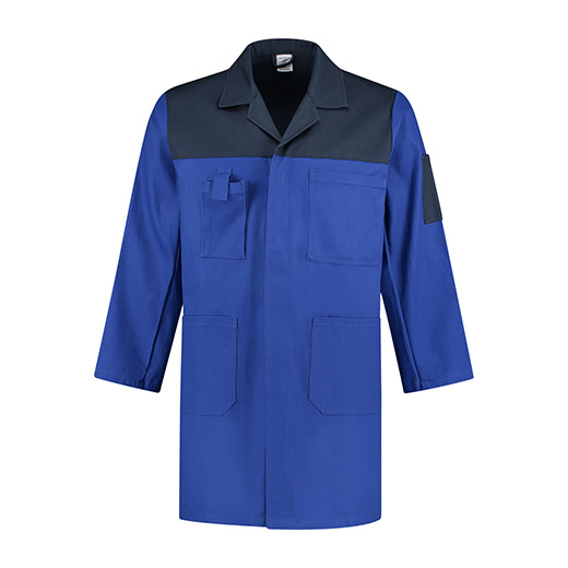 Bestex Stofjas korenblauw/navy  2-kleurig