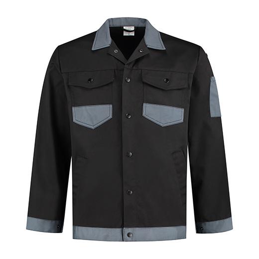Bestex Werkjasje zwart/grijs