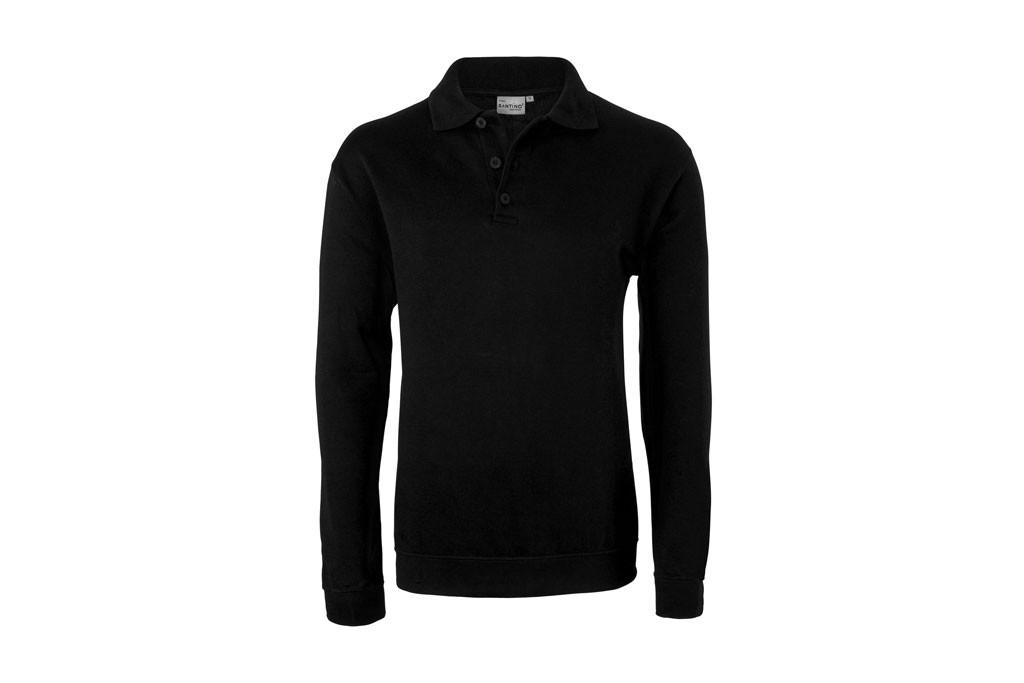HAVEP® Basic Polo sweater Zwart