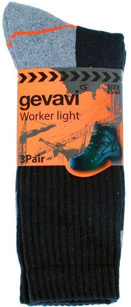 Gevavi Lichte Sokken GW80 3 Paar