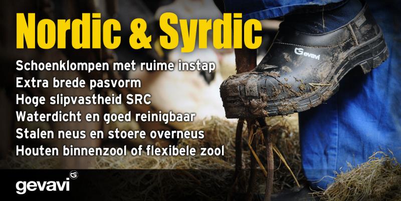 Gevavi klomp Syrdic D.H. Flex S3