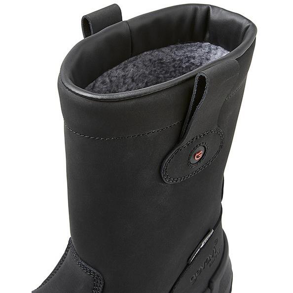Gevoerde Leren Laars Bari zwart GS91 S3 + KN