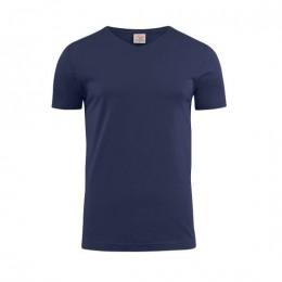 Printer Heavy V-neck T-shirt 2264024 zwart