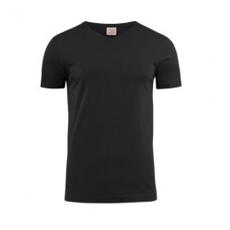 Printer Heavy V-neck T-shirt 2264024 zwart