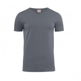 Printer Heavy V-neck T-shirt 2264024 frisgroen