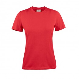 Printer T-shirt light RSX dames 2264028 rood