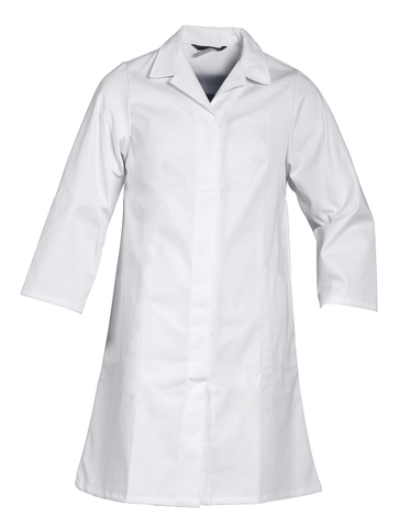 HAVEP® Basic Dames lange jas/Stofjas Wit