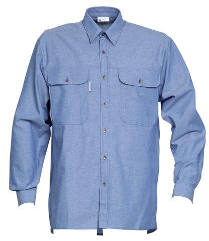 HAVEP® Basic Hemd lange mouw Bleu