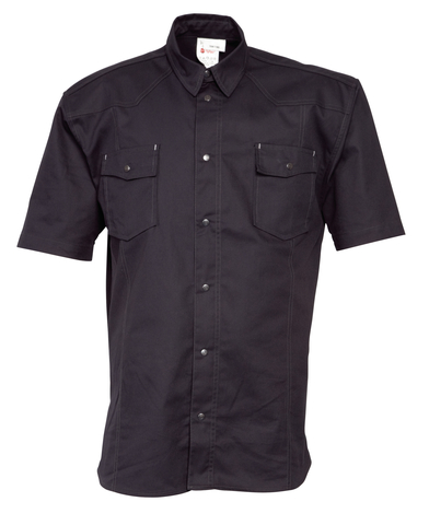 HAVEP® Worker Hemd korte mouw Zwart
