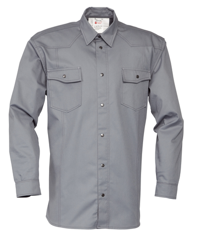 HAVEP® Worker Hemd lange mouw Grijs