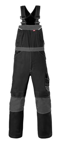HAVEP® Attitude Amerikaanse overall/Bretelbroek zwart/charcoal grijs