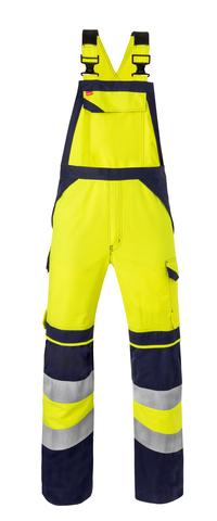 HAVEP® Multi Shield 20253 Amerikaanse overall/Bretelbroek fluo geel/marine