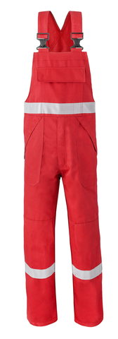 HAVEP® 5safety Amerikaanse overall/Bretelbroek 2151  Rood