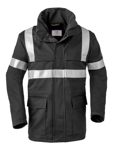 HAVEP® 5Safety Parka 40070 Zwart