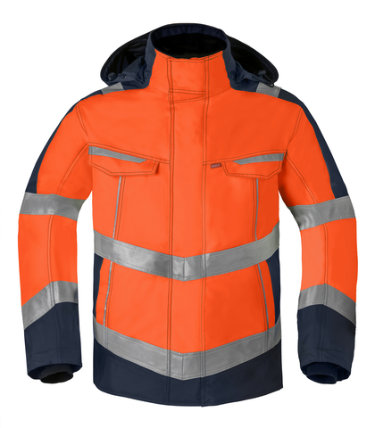 HAVEP® High Visibility Parka 50217 fluo oranje/marine