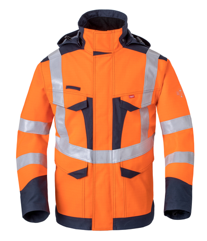 HAVEP® Multi Shield Parka  50248 fluo oranje/marine