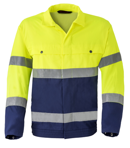 HAVEP® High Visibility Jack/Blouson 5105 Marine/fluo geel