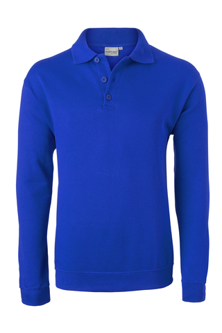 HAVEP® Basic Polo sweater Korenblauw