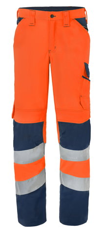 HAVEP® High Visibility Werkbroek 80228 fluo oranje/marine