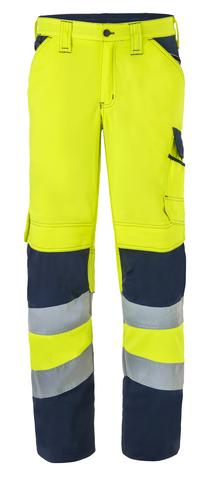 HAVEP® High Visibility Werkbroek 80228 fluo geel/marine