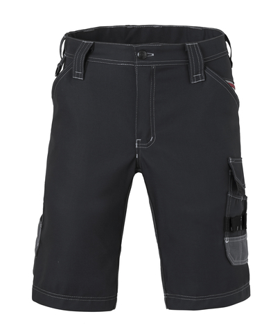 HAVEP® Attitude Werkbroek kort 80241 zwart/charcoal grijs