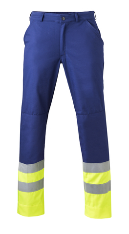 HAVEP® High Visibility Werkbroek 8397 Marine/fluo geel