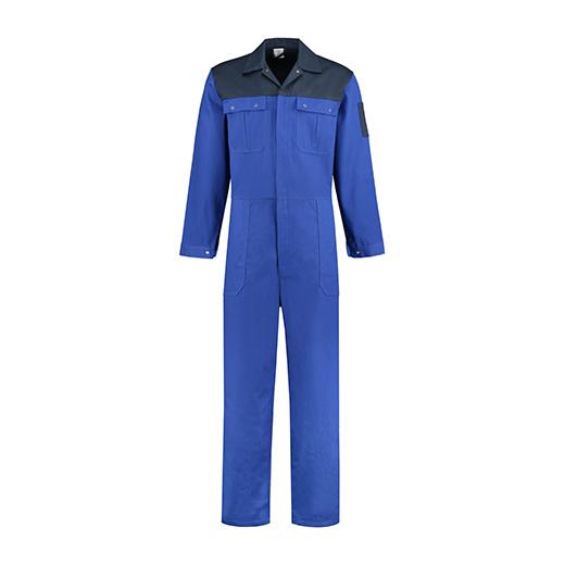 Bestex Overall korenblauw-navy  2-kleurig