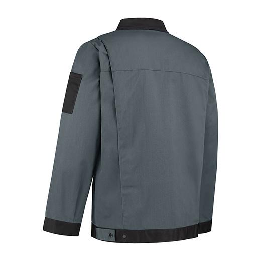 Bestex Werkjasje grijs/zwart