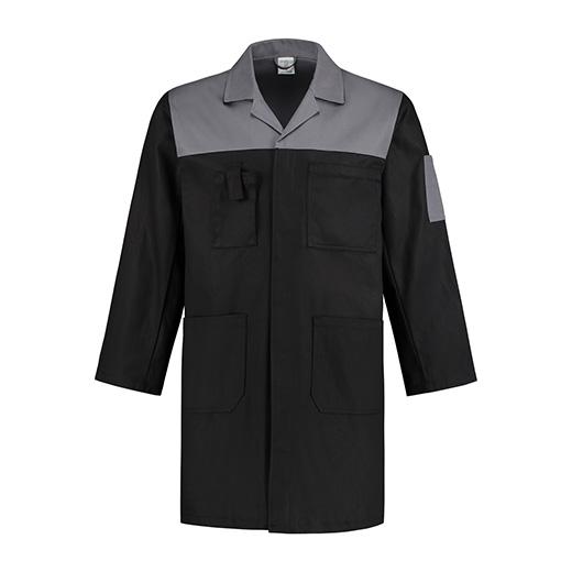 Bestex Stofjas zwart/grijs  2-kleurig