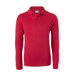 HAVEP® Basic Polo sweater Rood