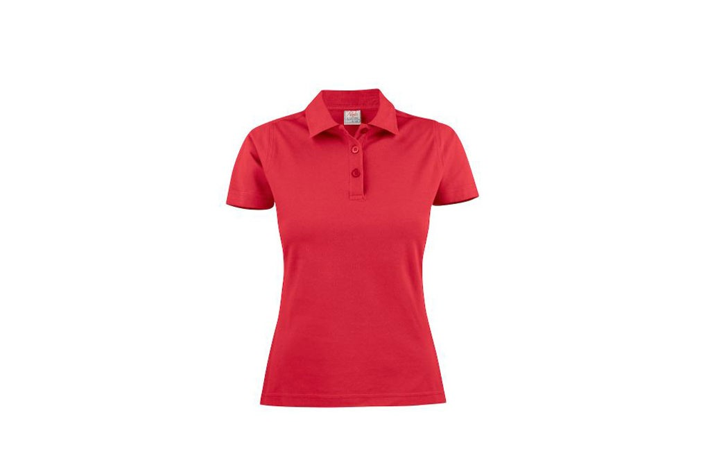 Printer Polo light RSX dames 2265023 rood