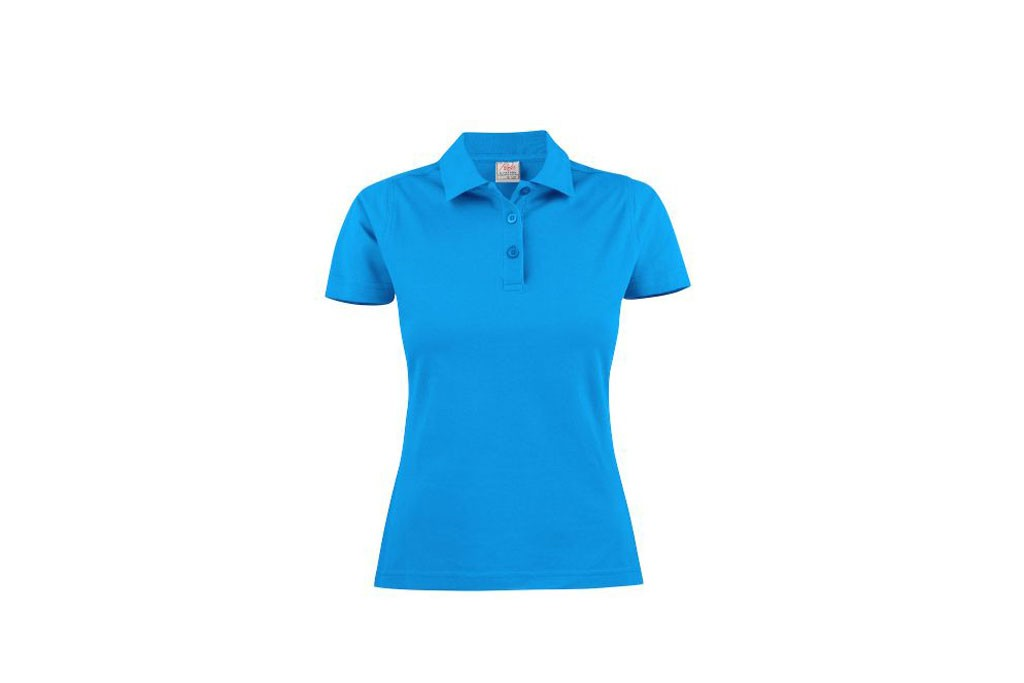Printer Polo light RSX dames 2265023 oceaanblauw