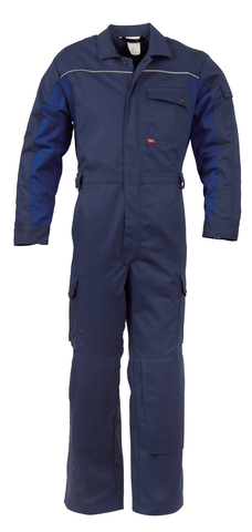 HAVEP® 4seasons Overall Marineblauw/korenblauw