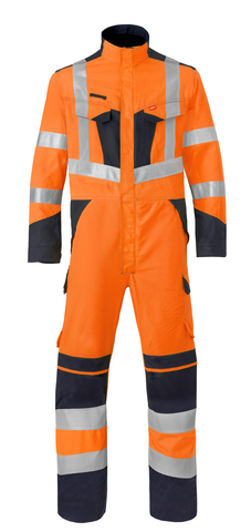 HAVEP® Multi Shield Overall fluo oranje/marine