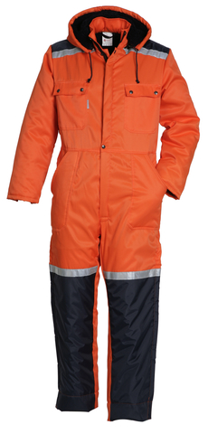 HAVEP® Basic Overall Oranje/marine