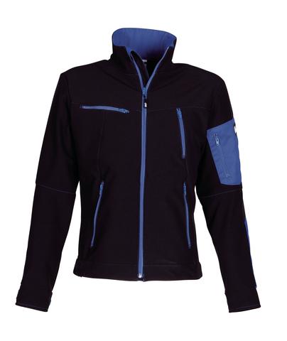 HAVEP® Titan Softshell Zwart/korenblauw