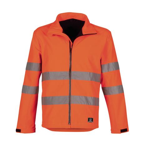 HAVEP® High Visibility Softshell 40057 fluo oranje